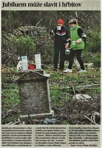 2017.10.24 MF Dnes - hřbitov Svatobor