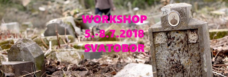 Workshop Revitalizace zaniklého hřbitova a obnova náhrobků