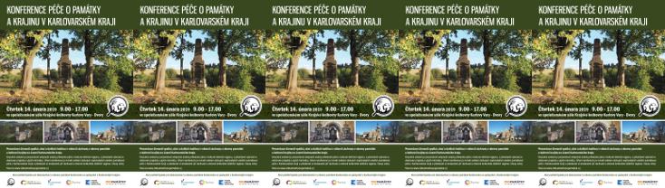 Konference Péče o památky a krajinu v Karlovarském kraji 2019