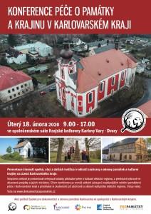 Konference Péče o památky a krajinu v Karlovarském kraji 2020